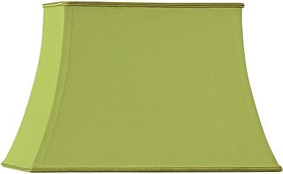 HUGUES RAMBERT 3760151507014 Abat-Jour Forme Pagode Rectangle, Vert Vif