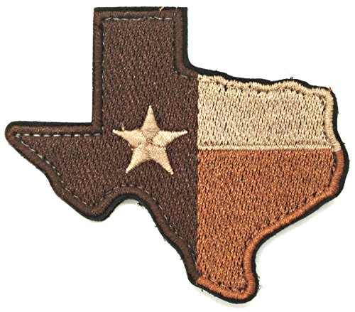 WZT Aufnäher mit Texas-Staat-Flagge, Morale Militär