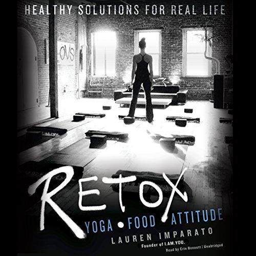 Retox audiobook cover art