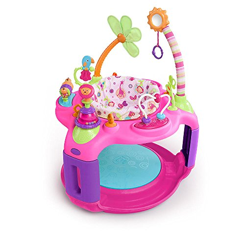 Bright Starts Bounce-A-Round - Pretty in Pink Sweet Safari - Adventure