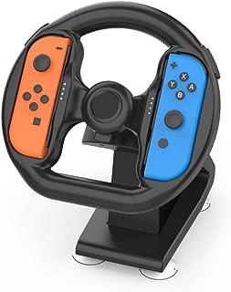 stuurwiel controleschakelaar Controller Bijlage met 4 zuignappen voor Nintendo Switch Racing Game NS Accessoire Stuurwielg...