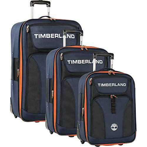 Timberland 3 Piece Expandable Luggage Set, Dark Sapphire, One Size