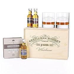 Whiskyglas mit Gravur im Geschenkset Auchentoshan - Geschenkideen Whisky