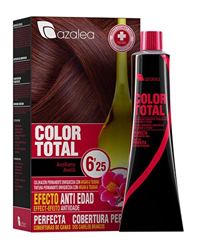 Azalea Total Tinte Capilar Permanente, Color Avellana - 224 gr
