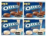 Oreo milk choc 2x246g Oreo white choc 2x246g biscotti oreo ricoperti di cioccolato al latte o cioccolato bianco (2x2)