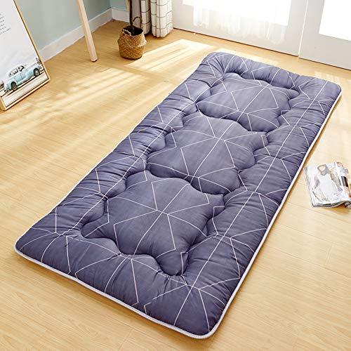 MM-CDZ Slaapkamer-slaapmatras, traditioneel gewatteerd, Japans, futon-bodem, opvouwbaar, tatami topper voor bed en Pillow topmatras voor thuis en slaapkamer