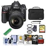 Nikon D780 FX-Format DSLR Camera with AF-S NIKKOR 24-120mm f/4G ED VR Lens - Bundle with 64GB SDXC Card, Camera Bag, 77mm Filter Kit, Cleaning Kit, Capleash II, Card Reader, Mac Software Package