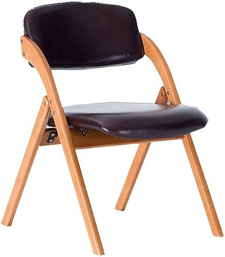 ShJttt-chair or stool Table de Salle à Manger à la Maison de Chaise en Bois Plein et Combinaison de Chaise Dossier Nordique Moderne Simple Chaise de café (59.5  52.5  75CM)