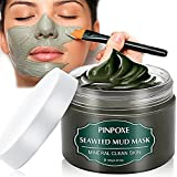 Blackhead Remover Mask, Blackhead Mask, Dead Sea Mud Mask, Acne face mask, Facial Mask, Seaweed Mask, Deep Cleaning Mask, Skin Mask with Algae, Against Impure Skin,Acne,Oily Skin,Blackheads,120g