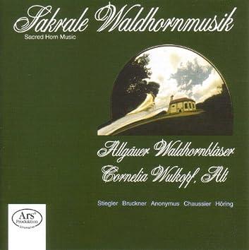 """Stiegler, K.: St. Hubertus-Messe / Bruckner, A.: Antiphon / Mass, """"Windhaager"""" / Chaussier, H.: O Salutaris / Horing, M.: Partita"""
