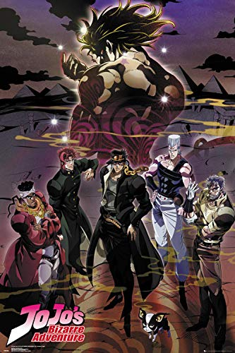 Close Up JoJo's Bizarre Adventure Poster Group (61cm x 91,5cm)