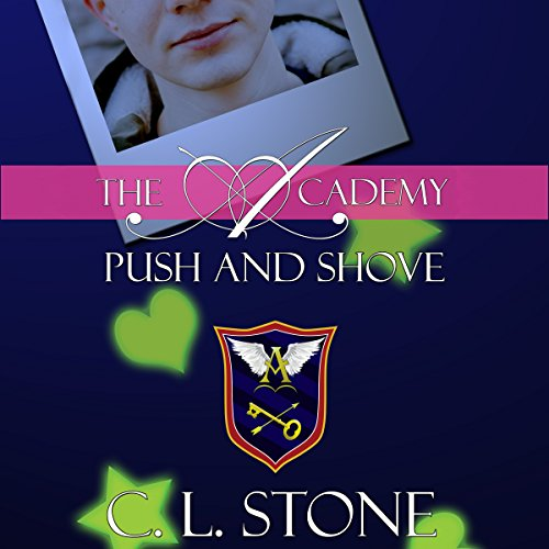 Push and Shove audiobook cover art