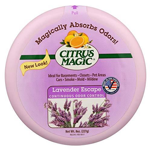 Citrus Magic Odor Absorber - Solid Lavender - Case of 6-8 oz, New