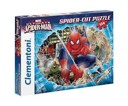 Clementoni - 20651.3 - Puzzle coupe - Spiderman-Go Spidey - 104 Pièces