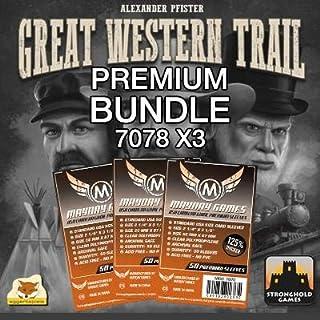 Great Western Trail - Premium Card Sleeve Bundle