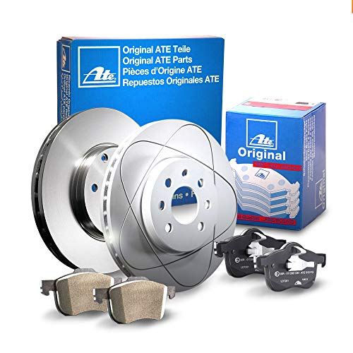 2 Bremsscheiben Ø300 Voll + Bremsbeläge ATE Hinten P-A-02-00296 Bremsanlage