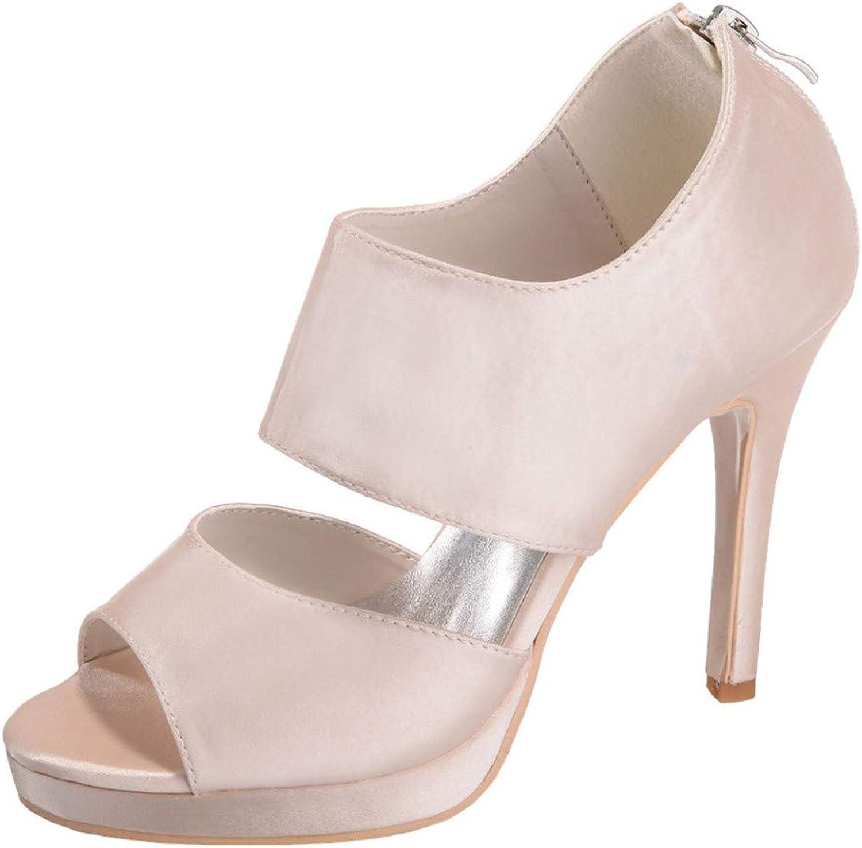 YOJDTD shoes Ladies shoes Sandals high Heels Low Heel Sandals