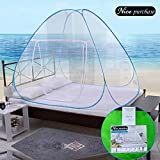 Nice purchase New Portable Folding Mosquito Net Tent Freestand Bed 1 or 2 Openings (1.0m)