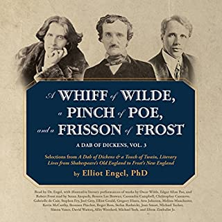 A Whiff of Wilde, a Pinch of Poe, and a Frisson of Frost audiobook cover art
