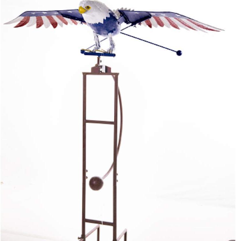 Terra Verde Home Jumbo 76 Inch Large discharge sale St Garden Patriotic Eagle Kinetic Excellence