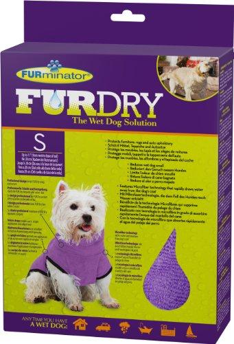 FURminator FUR Dry für Hunde (klein, bis 28 cm Körperlänge, lila)