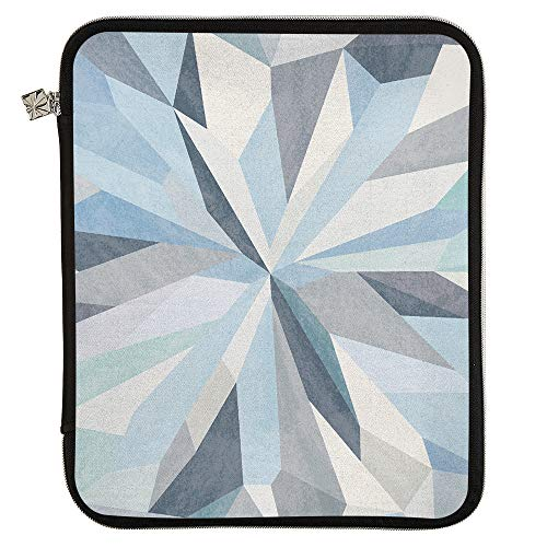 Erin Condren Medium Planner Folio - Kaleidoscope Neutral, Perfect Organizer for Documents, Planners, and Notebooks. Portfolio Case Holder with Zipper and Inner Pouch