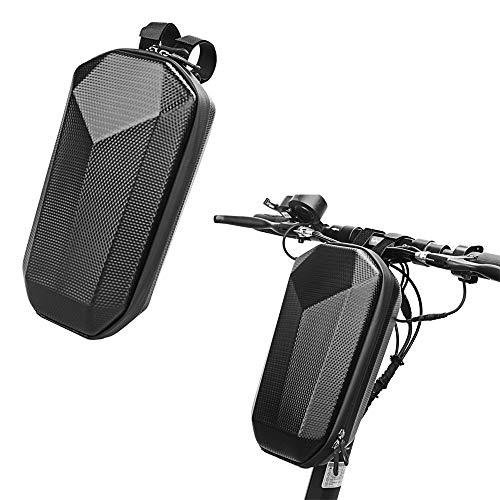 Borsa portaoggetti scooter Borsa porta manubrio anteriore Adatto per scooter elettrico pieghevole bici e bicicletta 4L impermeabile