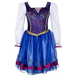 Disney Frozen Anna Enchanting Dress Kids Costume from Amazon Prime