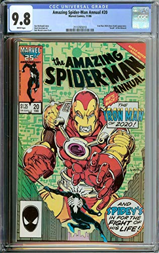 AMAZING SPIDER-MAN ANNUAL #20 CGC 9.8 WHITE PAGES