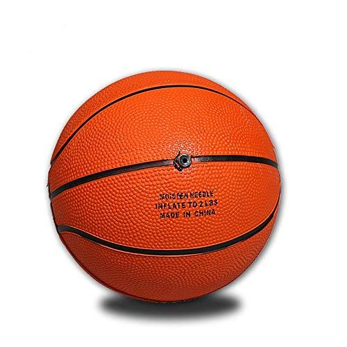 Pelota de Baloncesto Basket Ball Mini Baloncesto Amarillo Goma Profesional MAX Grip Goma Entrenamiento De Baloncesto Tamaño Pequeño para Baloncesto Interior