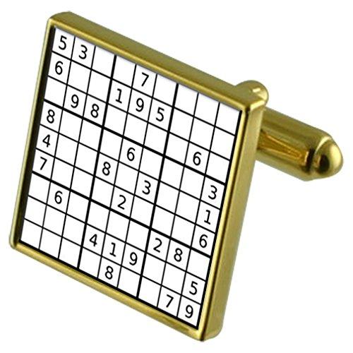 Select Gifts Sudoku Puzzle de Tono Oro Gemelos en la Bolsa
