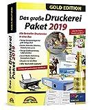 Das große Druckerei Paket 2019 Einladungen, Etiketten, Glückwunschkarten, Visitenkarten, CD/DVD...