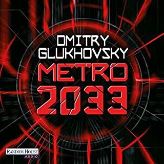Metro 2033 audiobook cover art