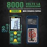 Zoom IMG-1 misuratore laser 50m usb carica