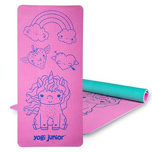 Product Image of the Yogi Junior Kids Yoga Mat - Double Layered (Pink)