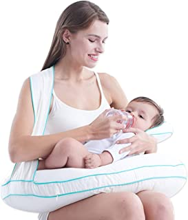 Breastfeeding Pillows Pregnant Woman Pillow Breastfeeding Pad Safety Fence Waist Pad Learning to Sit On The Pillow Feeding Pillow Lumbar Pillow Waist Stool
