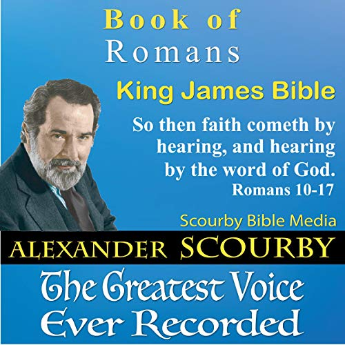 Book of Romans, King James Bible audiobook cover art