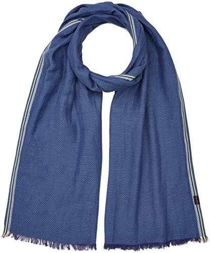 Marc O'Polo Herren 827832102026 Schal, Blau (Estate Blue 876), One Size (Herstellergröße: OSO)