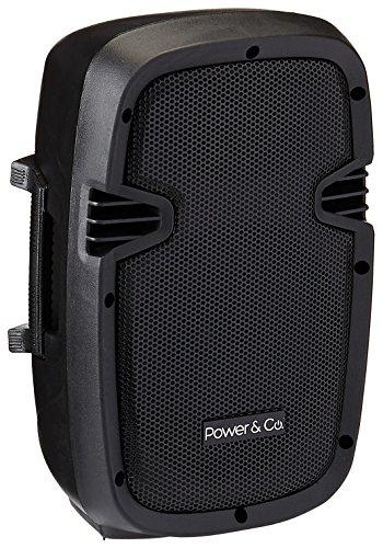 Power & Co XP-8000BK Bocina con Subwoofer, Bluetooth, Alámbrico/Inalámbrico, 4200W, color Negro