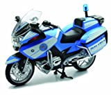 New-Ray S.R.L- Moto 1:12 Newr Polizia BMW R1200Rt 43173, Multicolore, 846026