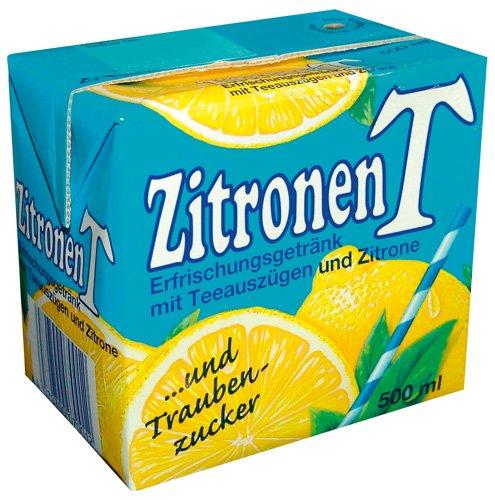 Eistee Eistee Zitrone, 12er Pack (12 x 500 ml)