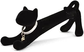 Xonex Cat Desk Pen, Black Ballpoint - Flocked Black