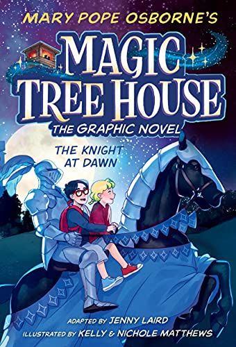 The Knight at Dawn Graphic Novel (Magic Tree House (R))