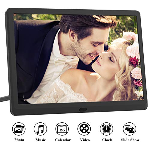 Digital Photo Frame 10 Inch (16:9) IPS 1920 * 1080 resolution display, Free 32GB SD...