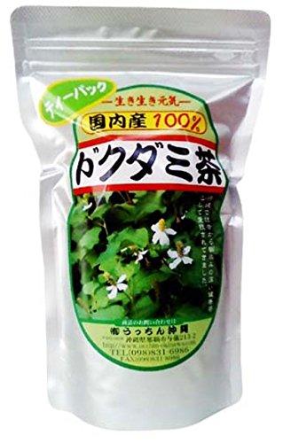 【健康茶】 ドクダミ茶 ティーパック (3g×20包)×2P うっちん沖縄 生薬の世界では十薬と呼ばれるどくだみを便利なティーパックに 女性におすすめのハーブティー