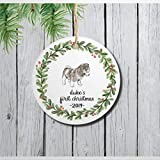 DONL9BAUER Weihnachts-Ornamente mit Hundemotiv, Motiv: Siberian Husky, zum...