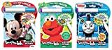 Bundle includes 3 Mess Free Imagine Ink Magic Pictures Activity Books Each book includes 24 pages of games and activities Designed to be used with the included Imagine Ink Marker, a clear marker that will not visibly mark most other items Perfect for...