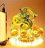 Lámpara de noche creativa, lámpara LED, juguetes, figura de dragón, bendición para hacer el sueño, conjunto combinado, máscara de iluminación decorativa para niños y bebés sin manta