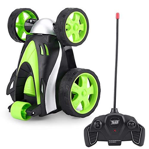 RC Rolling Car, Fernbedienung Tumbling Stunt Car 360GradRolling Toy KinderElektrofahrzeuge Stunt Toy Car, für Erwachsene Jungen Kinder im Freien