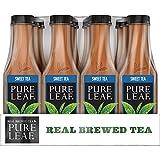 Pure Leaf, Iced Tea, Sweet Tea, Real Brewed Black Tea, 18.5 fl oz. bottles (12 Pack)